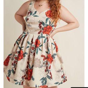 Modcloth elegant excellence dress size 1X